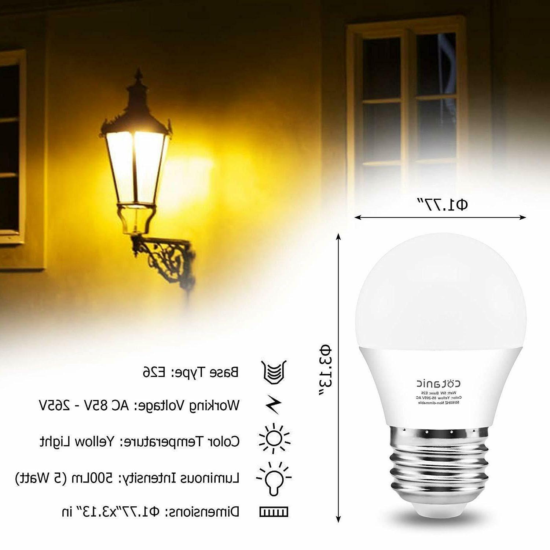 A15 Bug Light Cotanic Warm Bulb, Outdoor Lights,