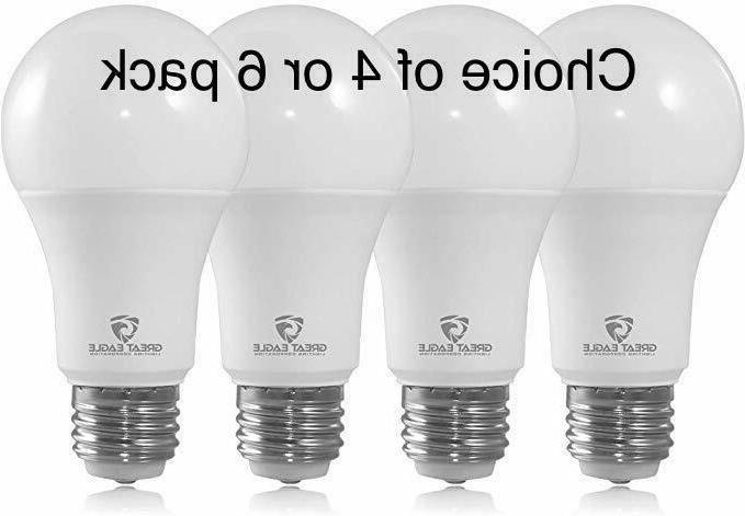A19 LED Light Bulbs 100 Watt Equivalent, Daylight 5000K, 150