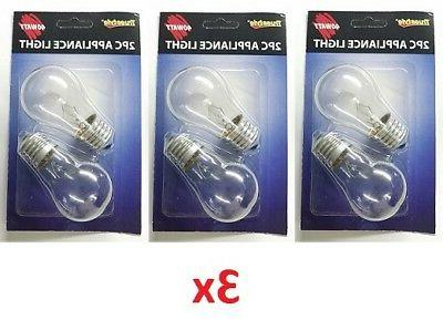 appliance light bulbs 40w 120v a15 intermediate