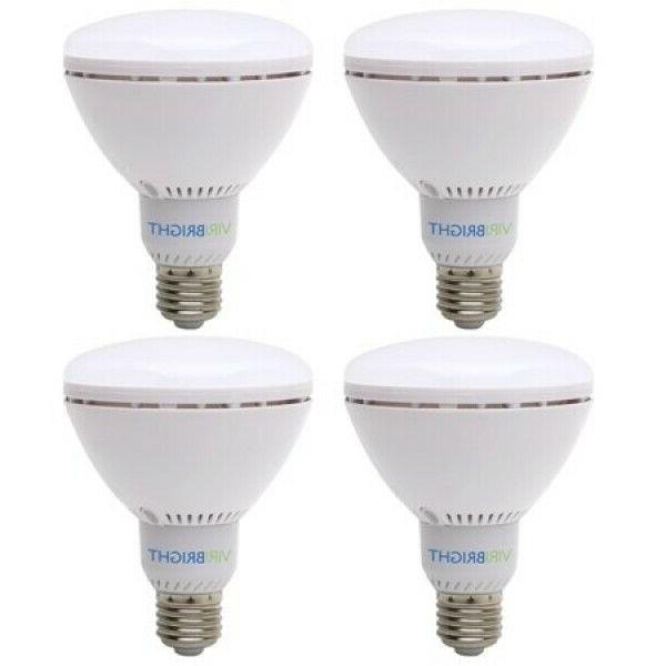 br30 4 pack led light bulbs 60