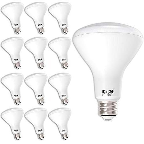 Sunco Lighting BR30 Bulb 11W=65W, 3000K LM, Indoor/Outdoor - UL Star