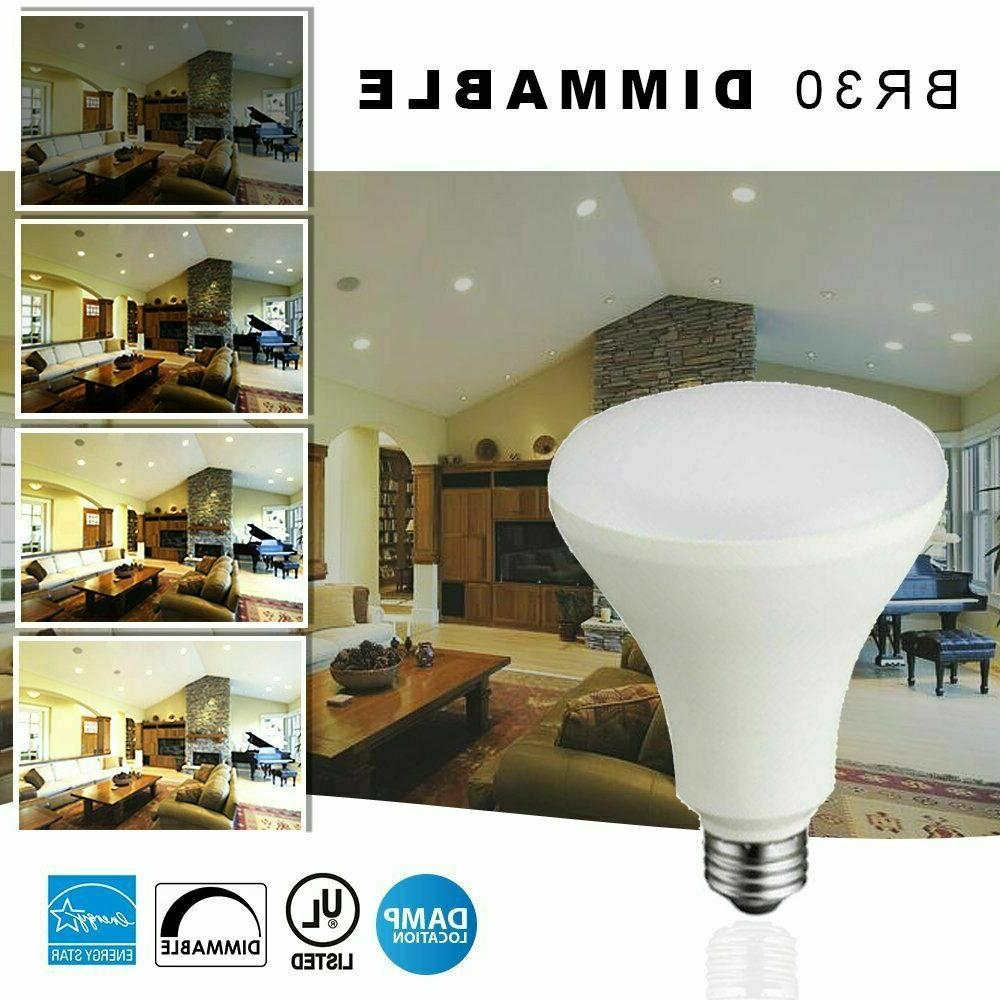 BR30 LED 11W Cool White Light UL