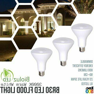 Bioluz LED BR30 LED Flood Light Bulbs 65-95 Watt Replacement