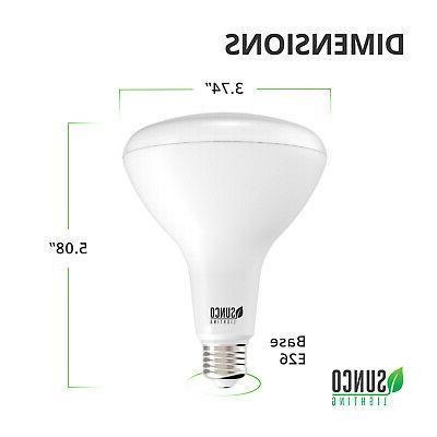 SUNCO BR30 FLOOD LED LIGHT 11W WARM