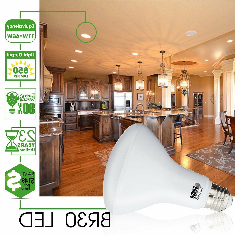 Sunco Lighting 8pk LED 2700K Warm White Indoor Outdoor Light Bulb