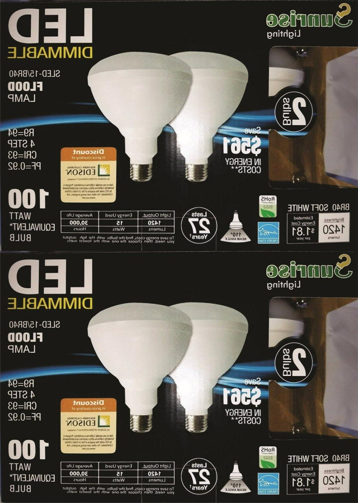 br40 led 15w 2700k warm white indoor