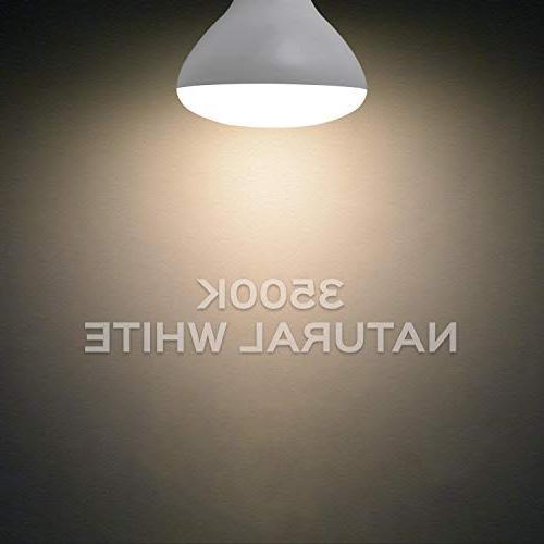 Luxrite LED Bulbs, 85W Equivalent, Natural White, Lumen, LED Light Bulb, 14W, E26 Medium Base, Indoor/Outdoor - Perfect for Lighting