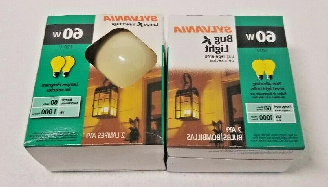 Sylvania Bug Bulb 60W Insect Light