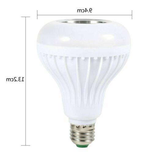 Bulb Bluetooth LED Light Color Wireless
