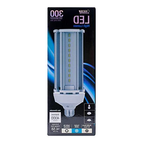"""Lumen Specialty LED Light Bulb, Volts, Lumens, 8.5""""H x Average Life of 32 Years/35000"""