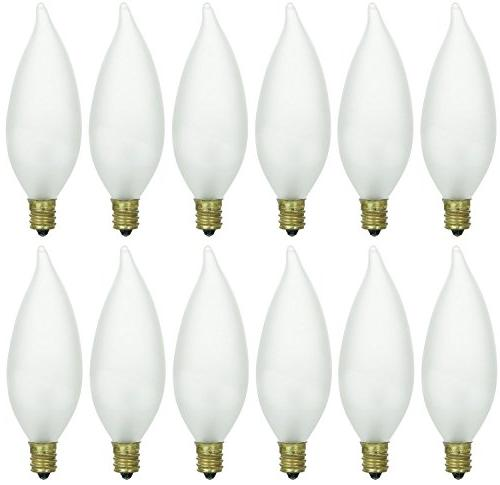 cff candelabra base frosted flame