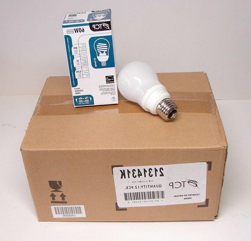 TCP 2131431K CFL A - Lamp - 60 Watt Equivalent  Warm White