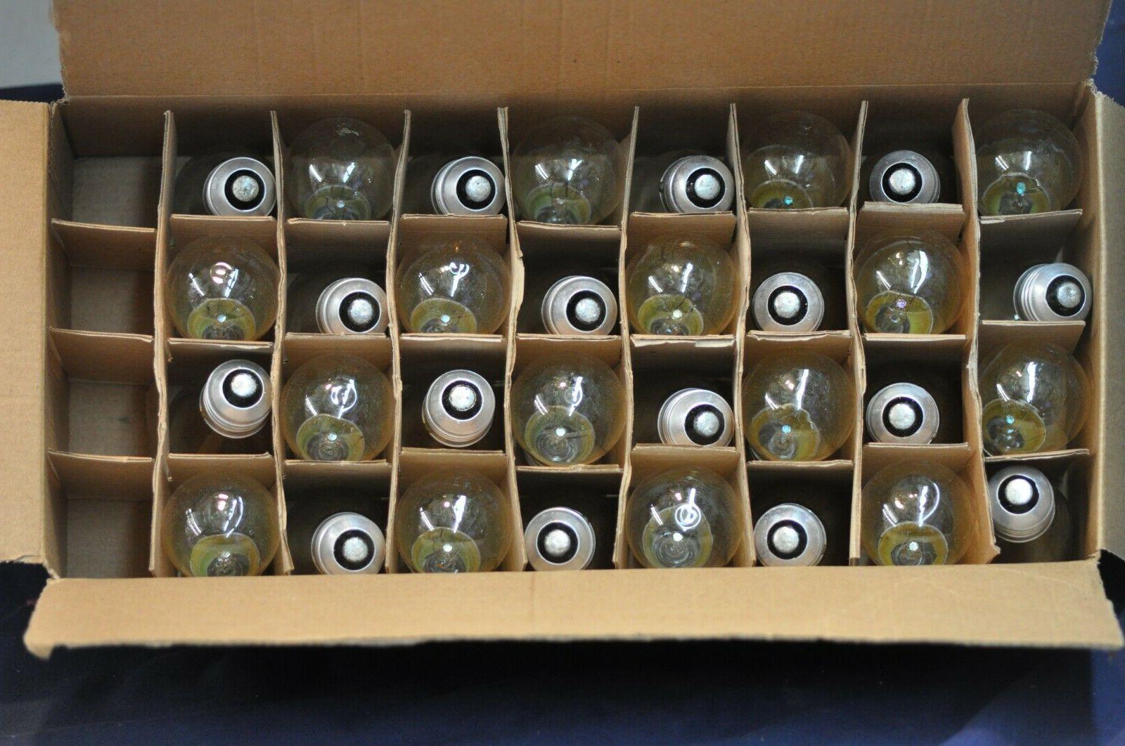 clear spare light bulbs 11 watt 130v