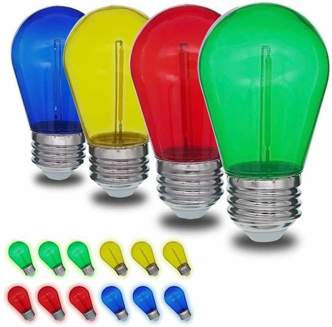 colored string led light bulbs replacement bulbs