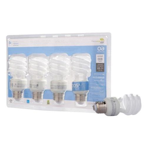 Ecosmart 14-watt Daylight Bulbs 4-packs