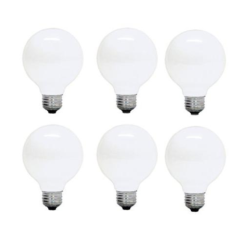 decorative g25 globe bulb med