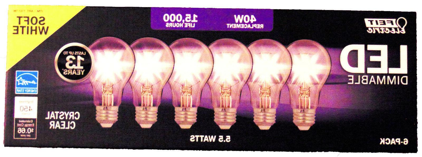 FEIT Dimable Replacement Bulbs using 4.5W Soft 6