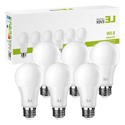 Dimmable 8.5W Light Bulbs 60W Equal 800