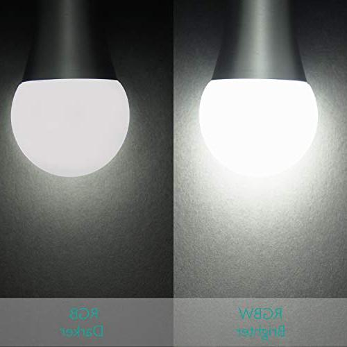 SUNNEST Dimmable E26 Light , Colors LED Light Bulb, 10W RGBW Light Control, for and