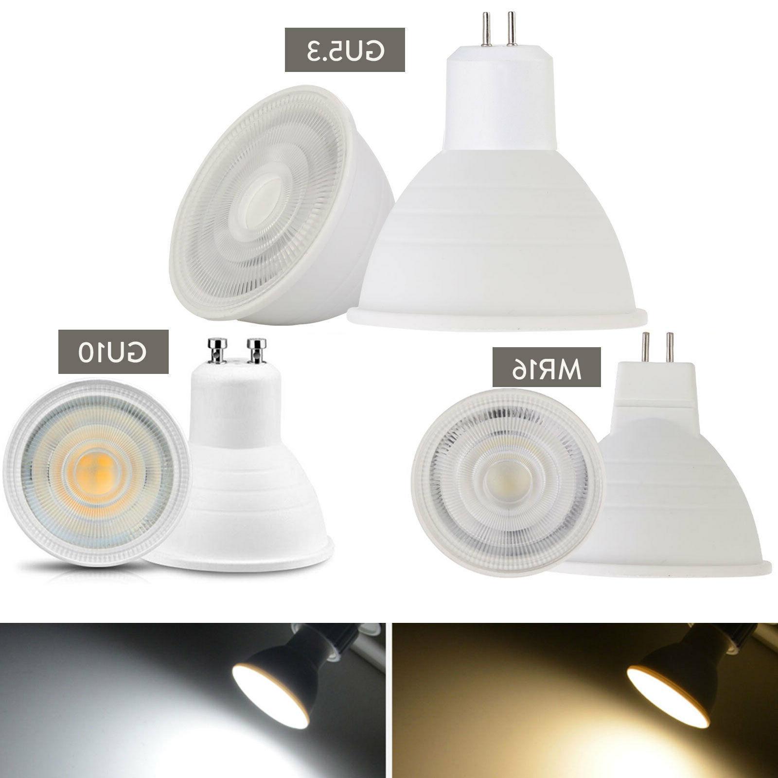 dimmable gu10 cob led spotlight 7w mr16