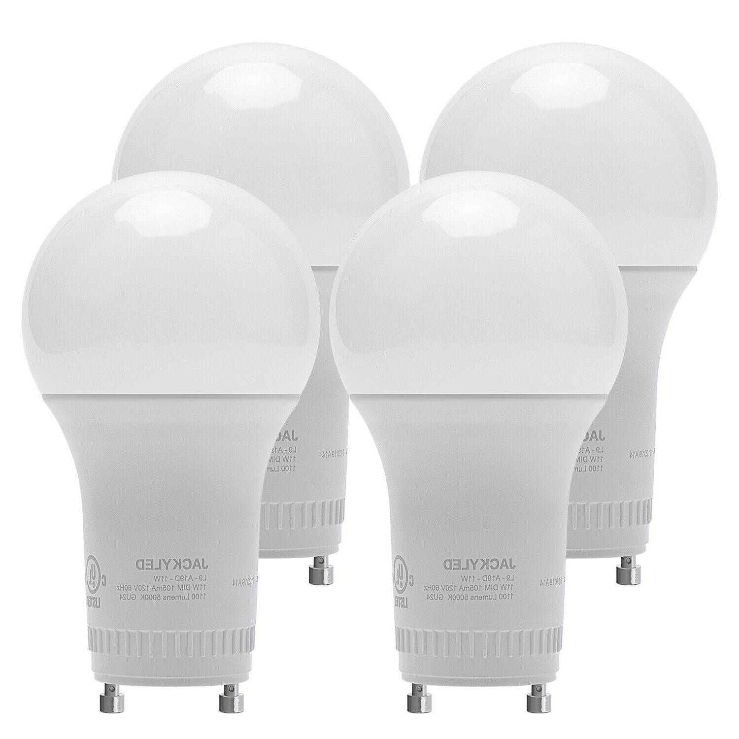 dimmable gu24 base a19 led light bulbs