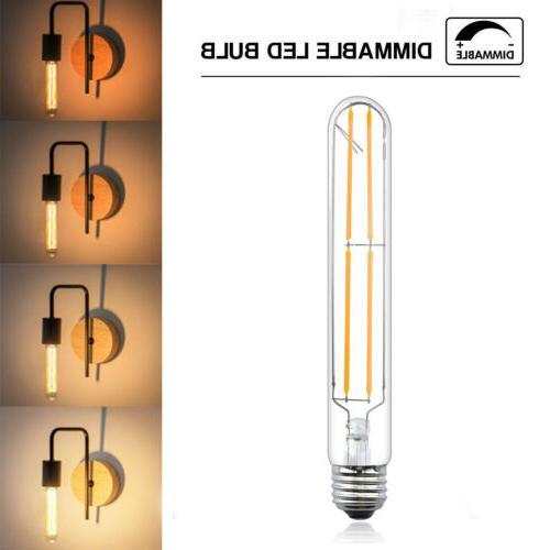 Dimmable T10 LED Filament Light Watts LED Bulb LED