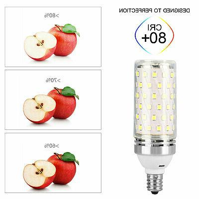 15W Light Bulbs Daylight 6000K