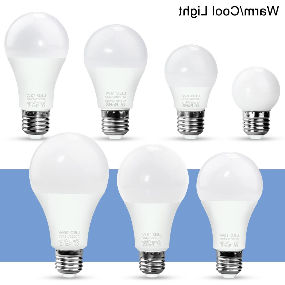 3W 6W 15W LED Lamp 220V E27 <font><b>Light</b></font> SMD2835 Energy Lighting