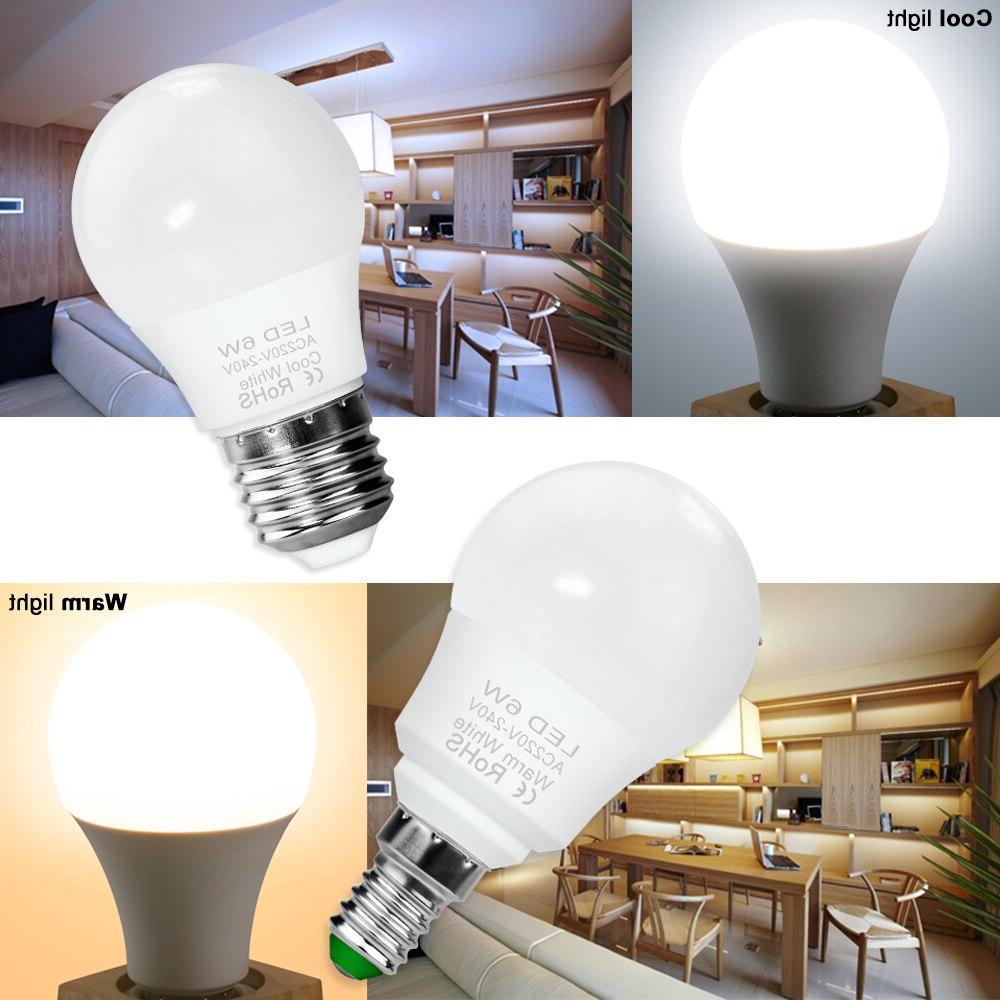 3W 6W 15W 20W Lamp 230V 220V E27 SMD2835 Ampoule Energy Lighting