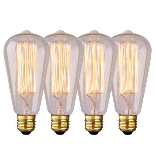 E26 60W Light Vintage Edison Incandescent