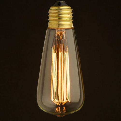 E26 40W Light Bulb 110V Vintage Retro
