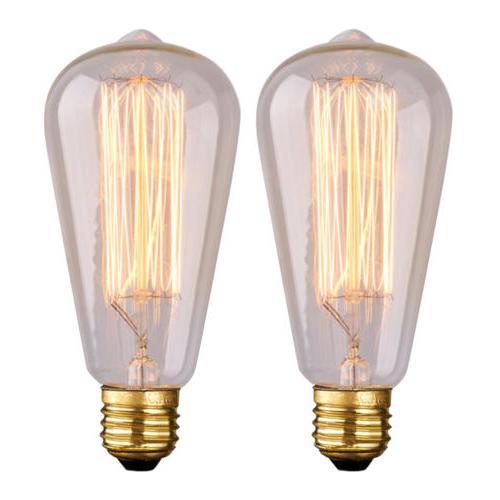 E26 40W 60W Filament Light 110V Vintage Edison