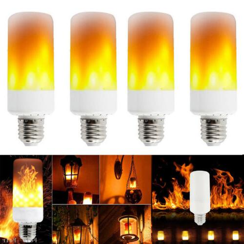 e26 led flicker flame light bulb simulated