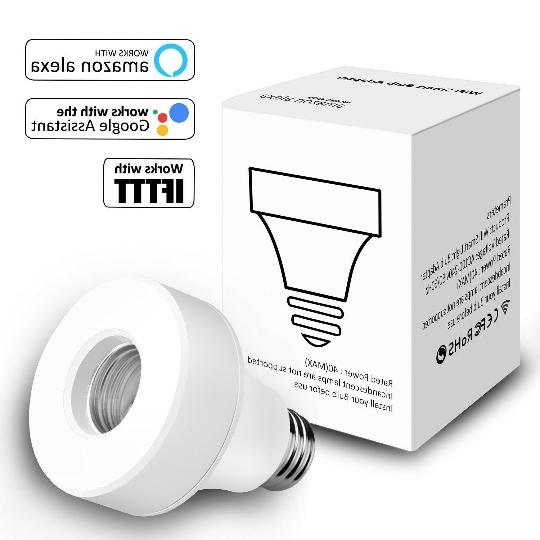 WiFi Bulb Socket Works Home /Alexa/IFTTT