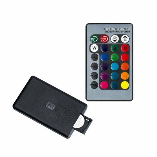 E27 LED 3W Magic IR Remote Control