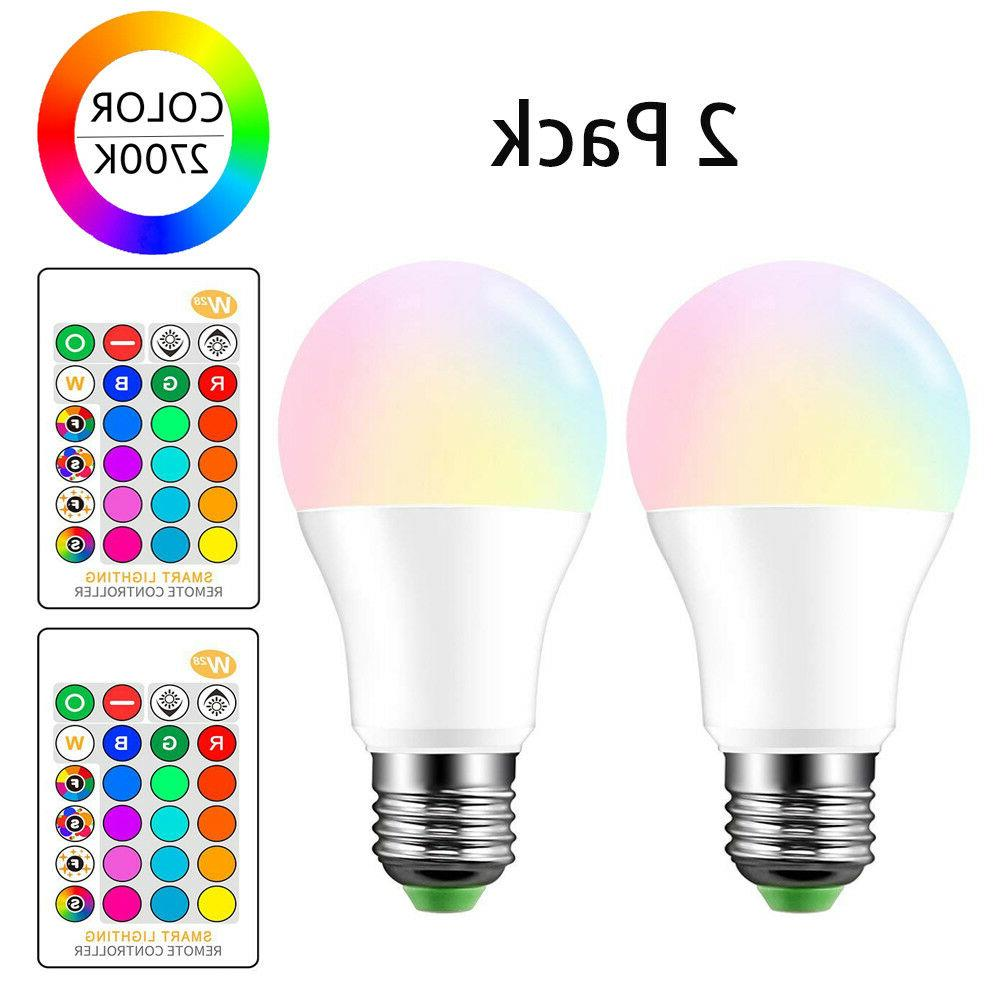 e27 rgb lamp changing magic