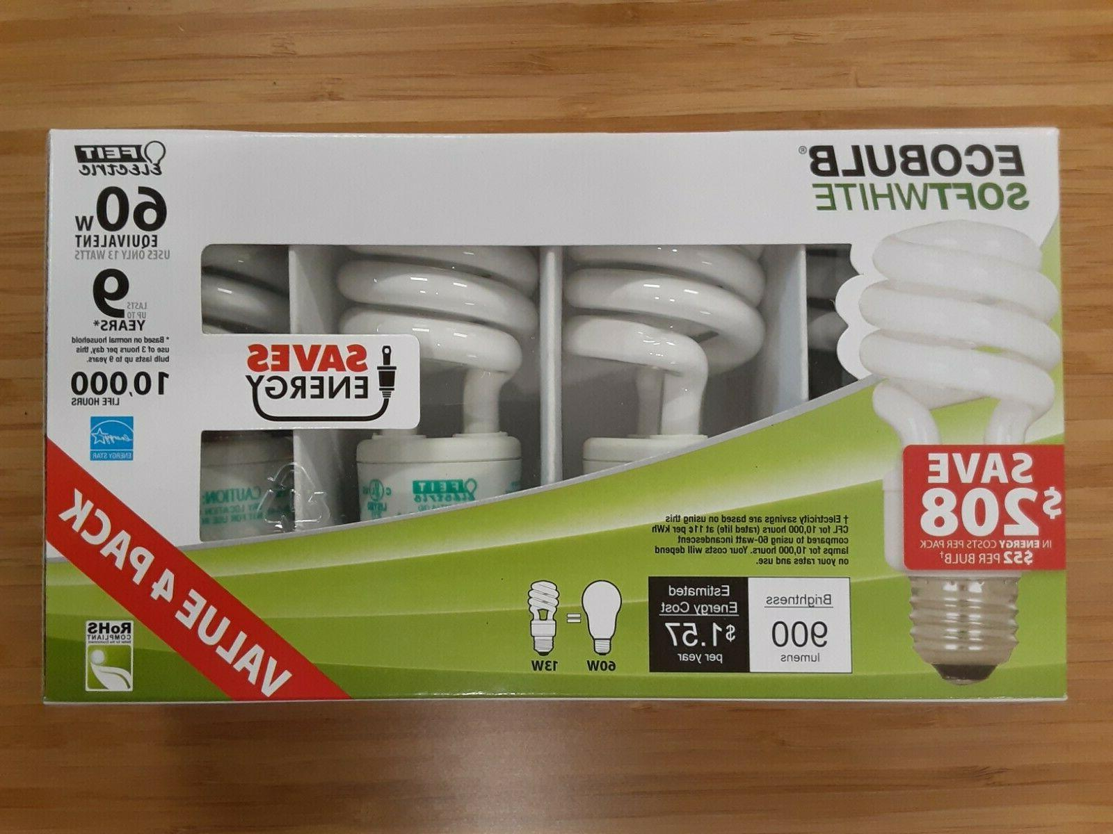 Feit Electric Ecobulb 13 Watts Softwhite 60 Watt Equivalent