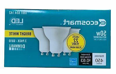 ecosmart 50w equivalent bright white mr16 gu10