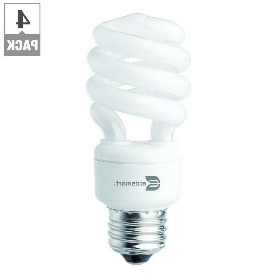 EcoSmart 60 Watt Equivalent Spiral Non Dimmable E26 CFL Ligh