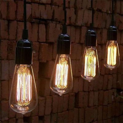 Edison E26 Retro Lamp Vintage 40W 60W Light