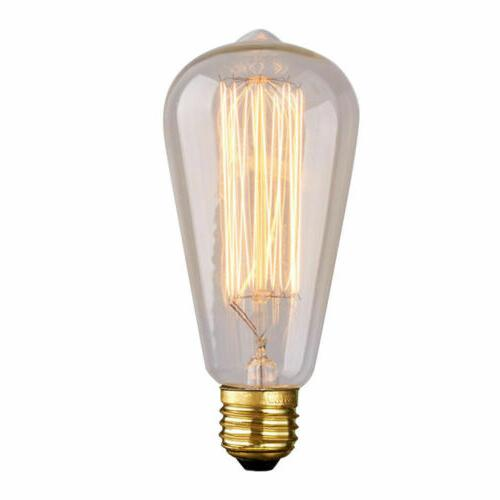 Edison E26 Lamp ST64 40W 60W Filament 110V