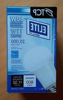 TCP Elite LED Light Bulb - 11W 2700K Dimmable - LAO1127UTB -