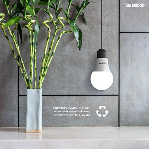 SunLabz Bulbs 60-Watt E26 Non-Dimmable, of