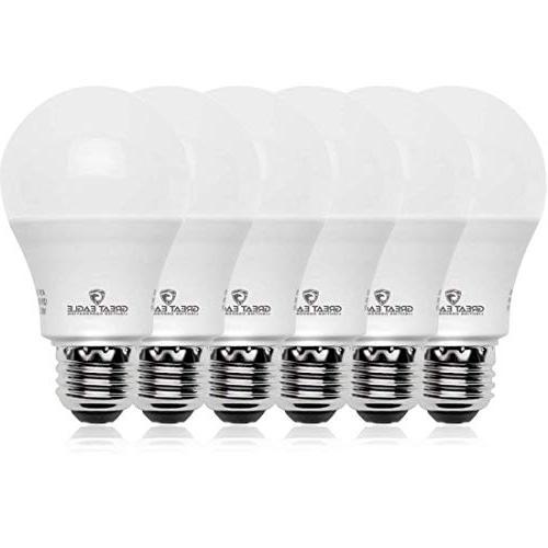 equivalent light bulb a19 bright