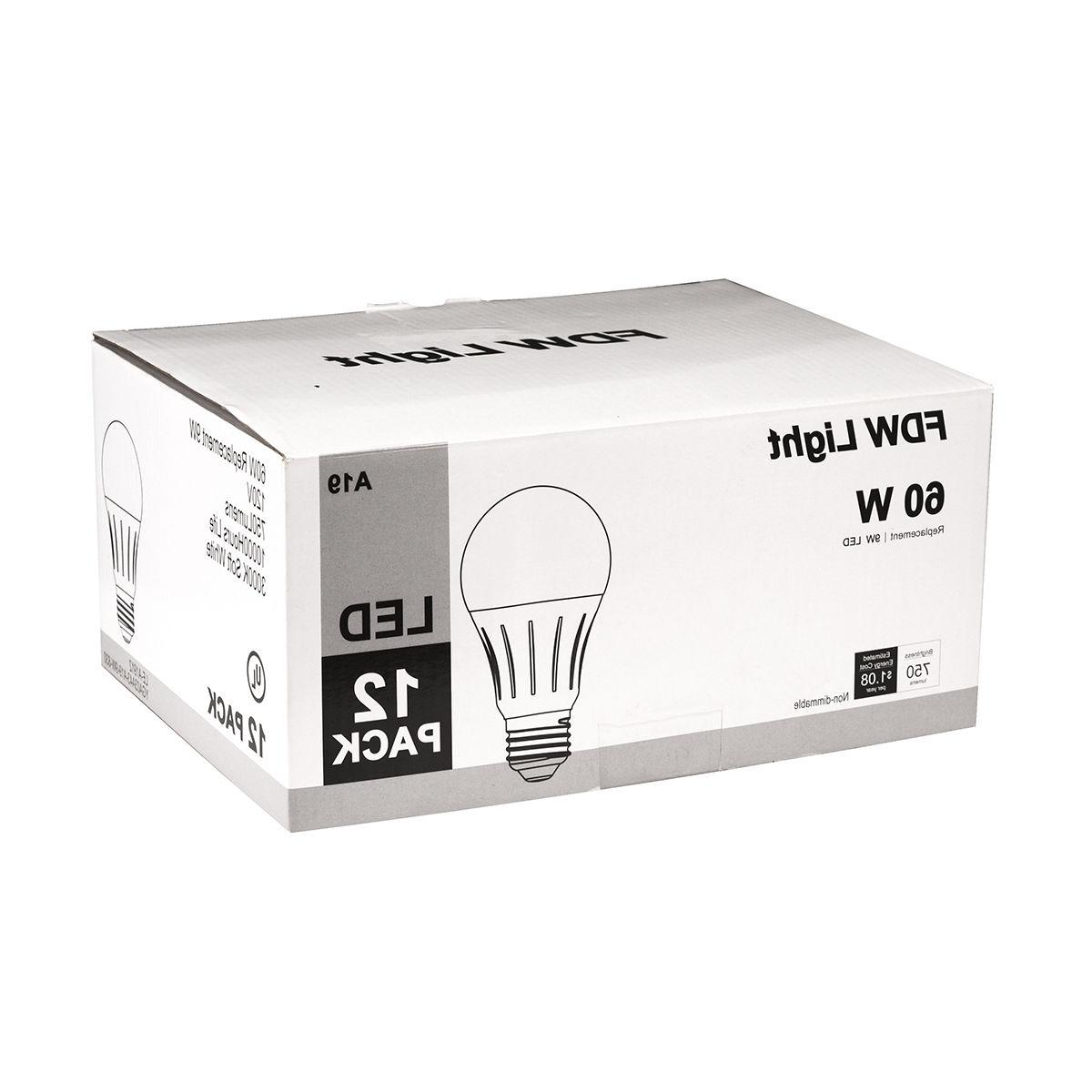 New Equivalent SlimStyle A19 LED Light 12