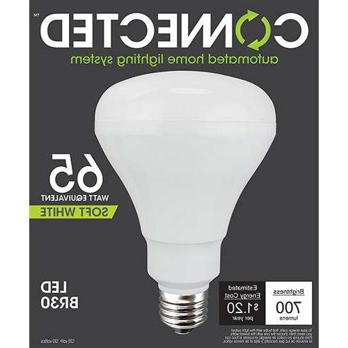 TCP 65W Equivalent Soft White BR30 Smart LED Bulb
