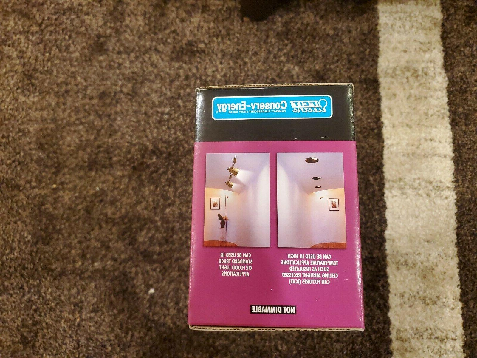 FEIT reflector light bulbs 65w 4 pack
