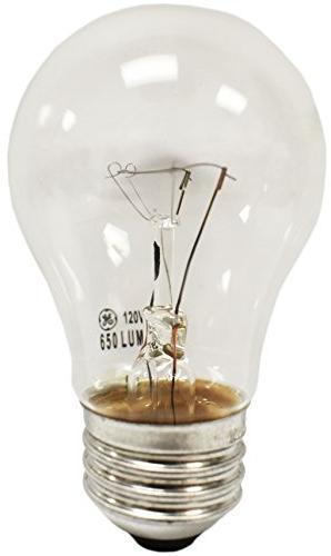GE A15 Clear Ceiling Fan Bulbs Lumens