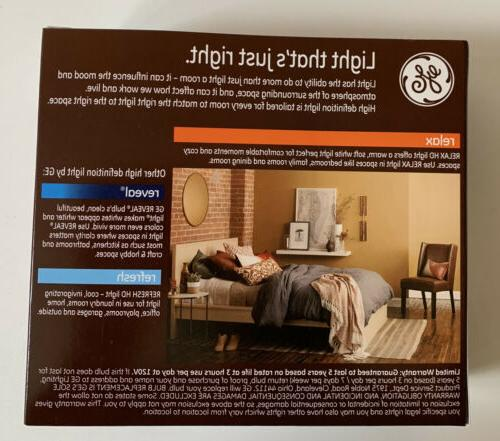 GE Relax Equivalent 60W A19 Soft 2700K