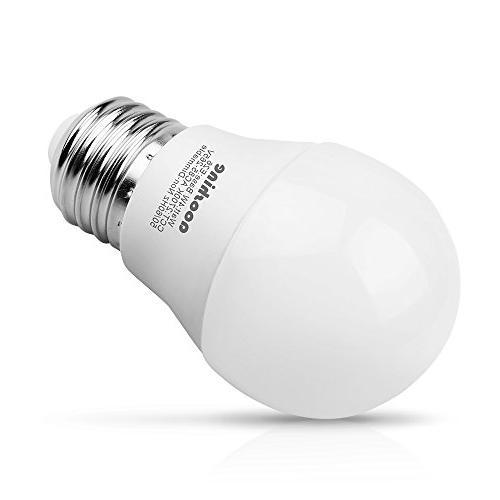 LED Light 40 Watts, 4 Watt Soft White 2700K LED Screw Base Lumens A15/G45 Home